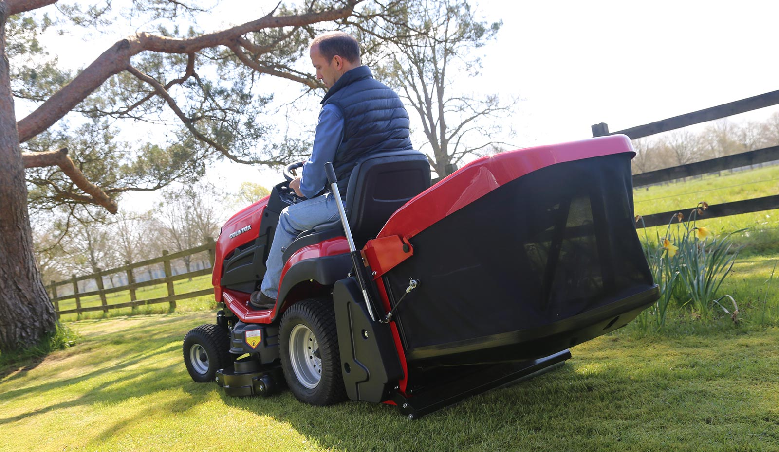 Countax C Series C40 lawn garden tractor ride-on mower