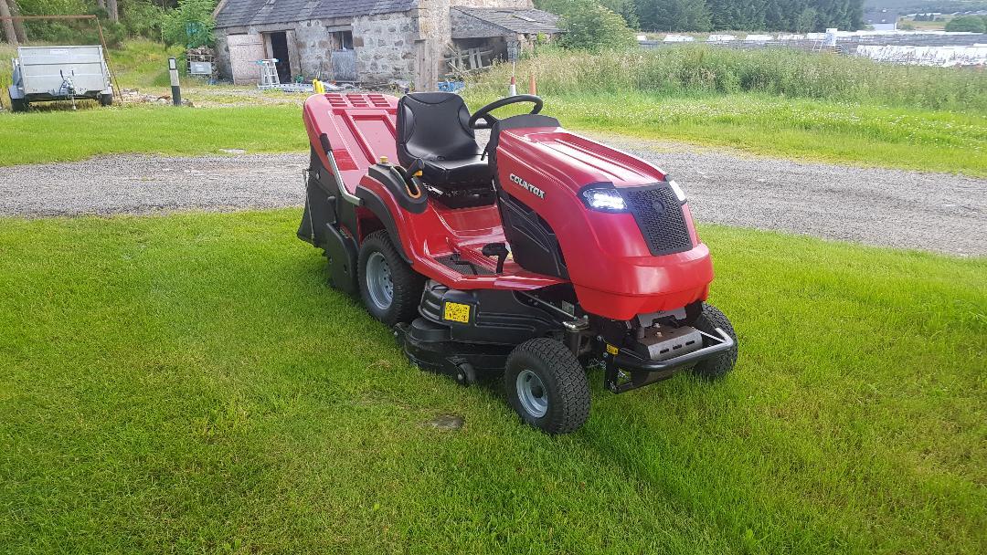 Scott Donald's Countax C60 garden tractor