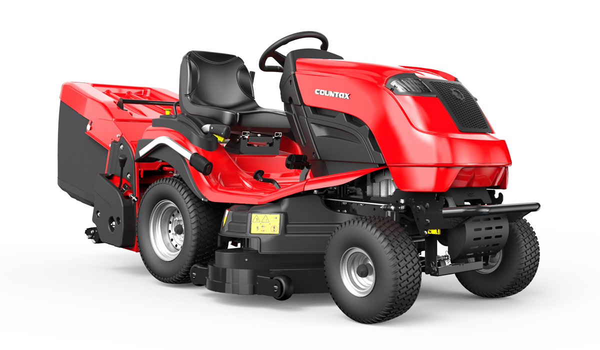 Countax C Series C80 garden tractor mower right view