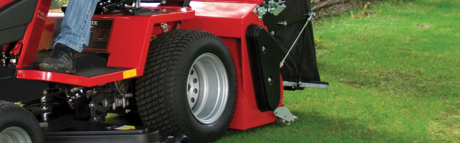 Countax garden tractor a series powered grass collector
