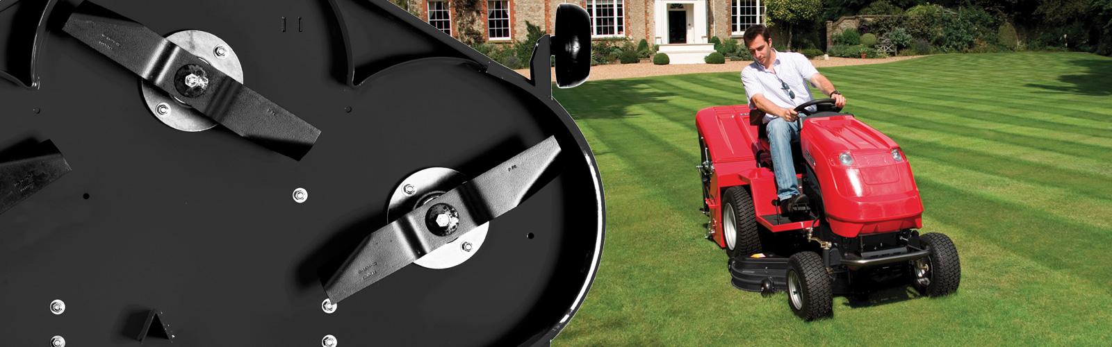 Countax A Series garden tractor riding mower IBS rear discharge cutter deck