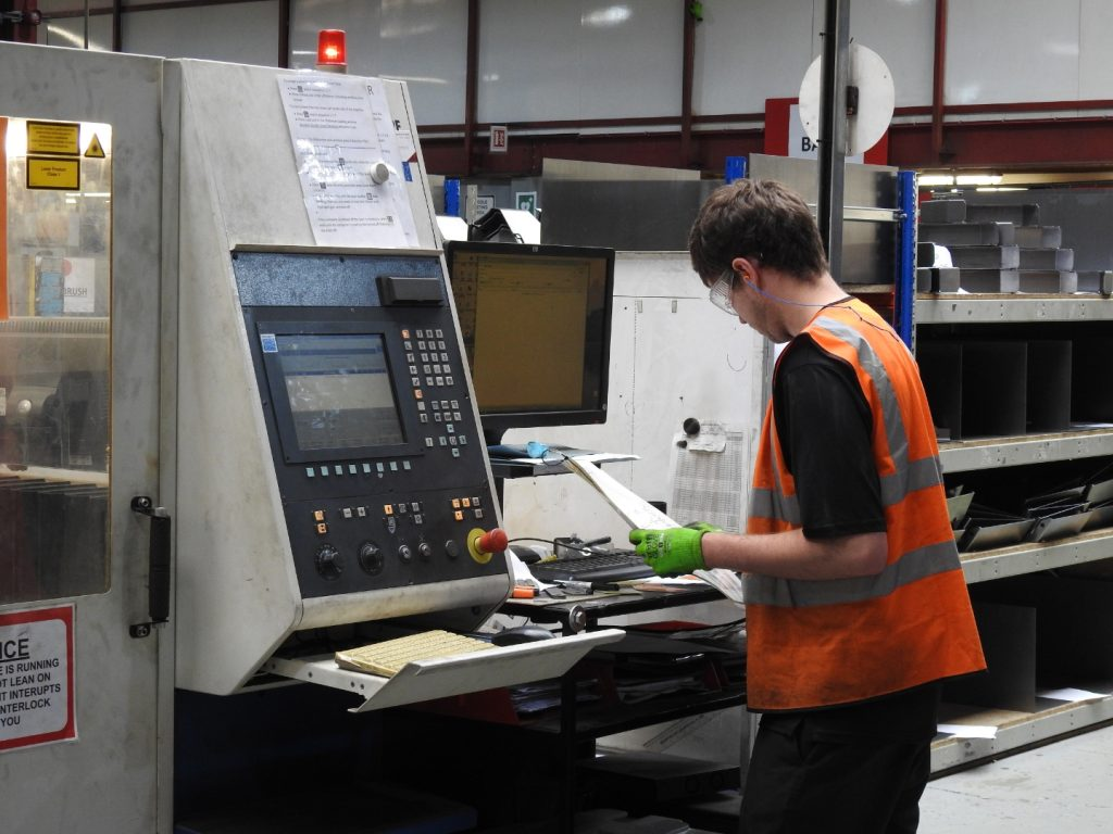 Countax manufacturing staff