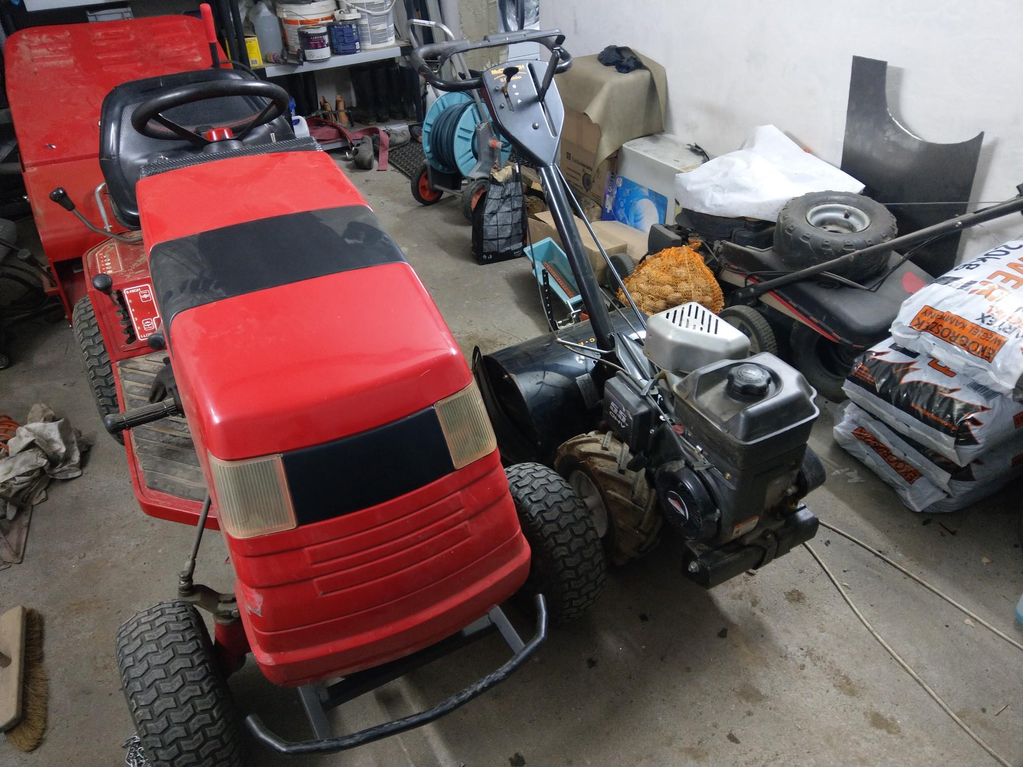 Countax tractor rebuild