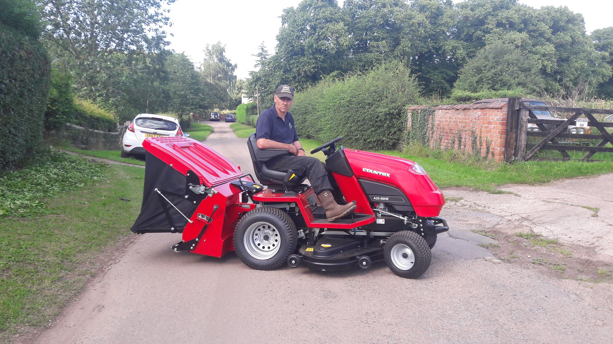 Paul Rowland Countax tractor testimonial