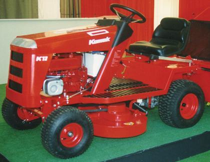 Countax garden tractor history Kodak