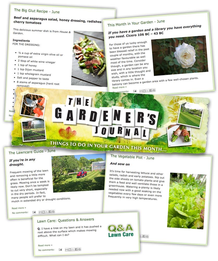 Gardeners Journal for year-round gardening tips