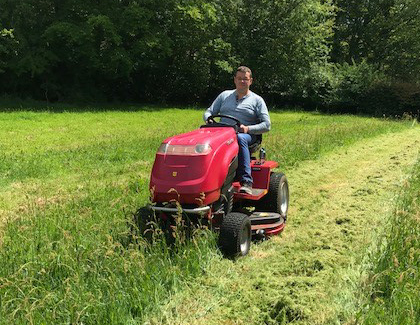 Countax lawn garden tractor ride on mower testimonials