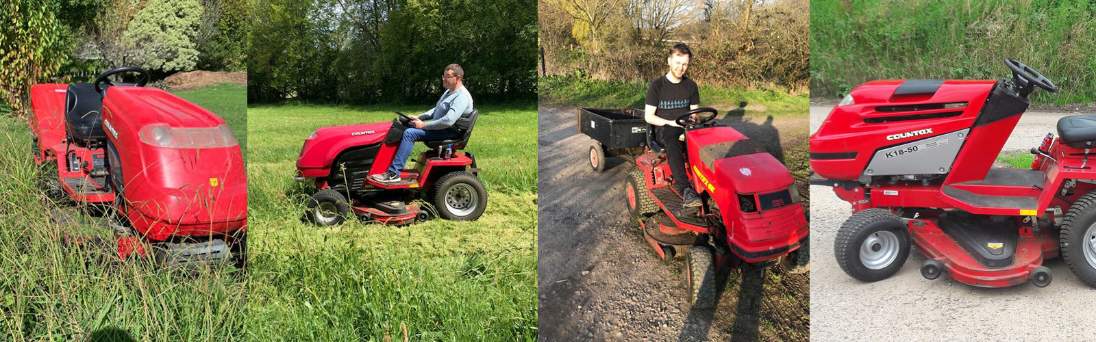 Countax garden tractor owner testimonials