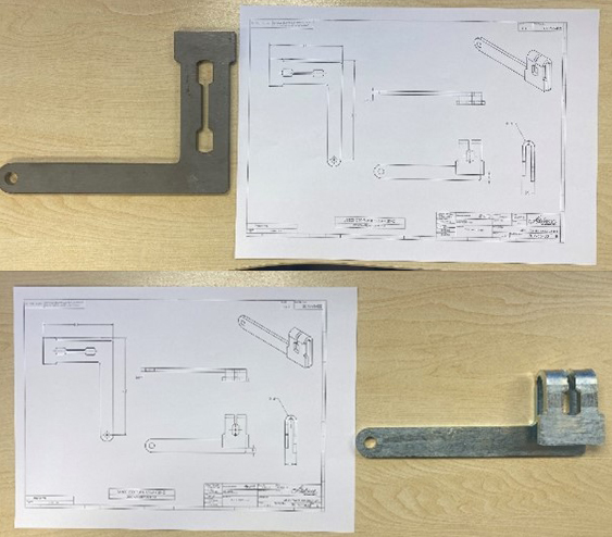 Countax CAD drawing and parts